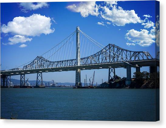 The Two Bridges Canvas Print by SFPhotoStore