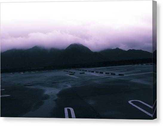 The Typhoon Before The Storm Canvas Print by Maia Rose