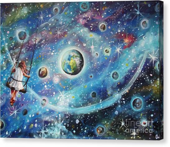 The Universe Is My Playground Canvas Print