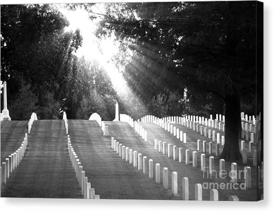 The Unknown Soldiers Canvas Print