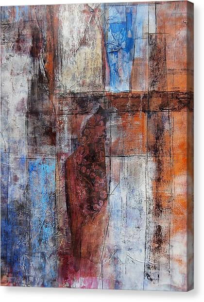 The Urban Frontier Canvas Print