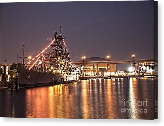 Buffalo Sabres Canvas Print - The Uss Little Rock by Jim Lepard