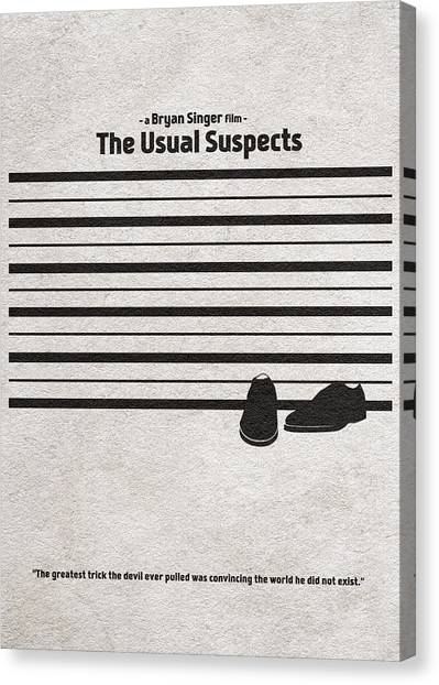 The Usual Suspects Canvas Print - The Usual Suspects by Inspirowl Design