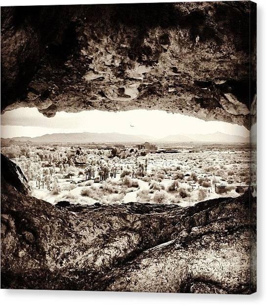 Arizona Canvas Print - The Valley Eye by Mohamed Abdulhamid