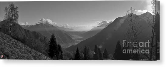 The Valley Canvas Print by Marco Affini