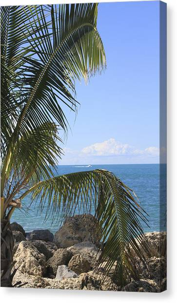 Key West Ocean View Canvas Print