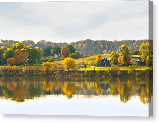 The View From Rabbit Hash Canvas Print by Jeanne Sheridan