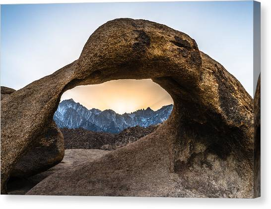 The Viewfinder Canvas Print