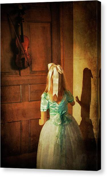 Dress Canvas Print - The Violn by Harry Wentworth