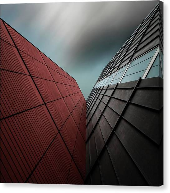 Grid Canvas Print - The Visor by Gilbert Claes