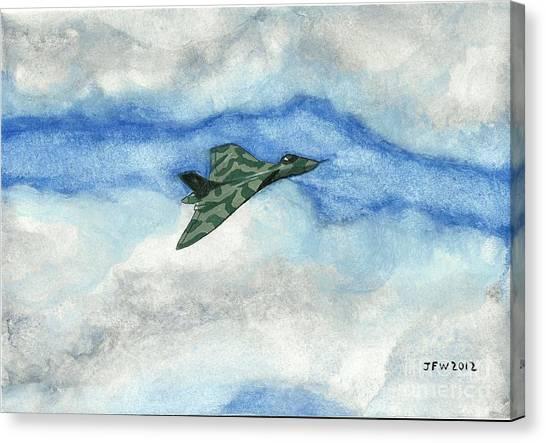 The Vulcan Bomber Canvas Print