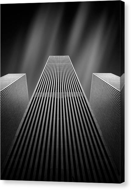 Tall Canvas Print - The W by Olivier Schwartz