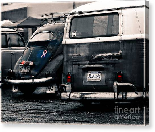 The Wagens  Canvas Print by Steven Digman