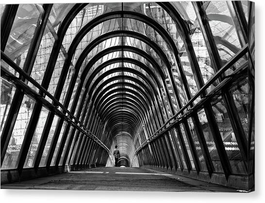 Tunnels Canvas Print - The Walker by