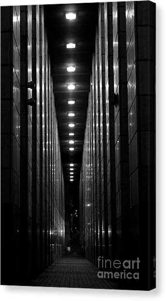 The Walkway Canvas Print