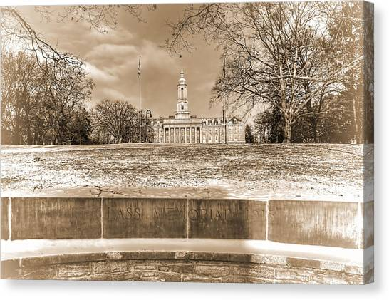 Pennsylvania State University Canvas Print - The Wall by Rusty Glessner