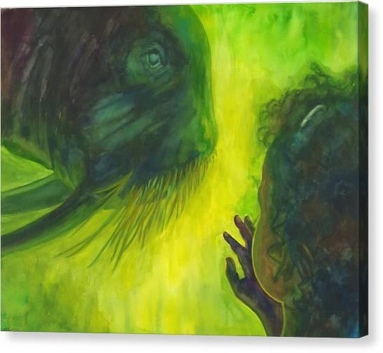 The Walrus Canvas Print by Maureen Dean