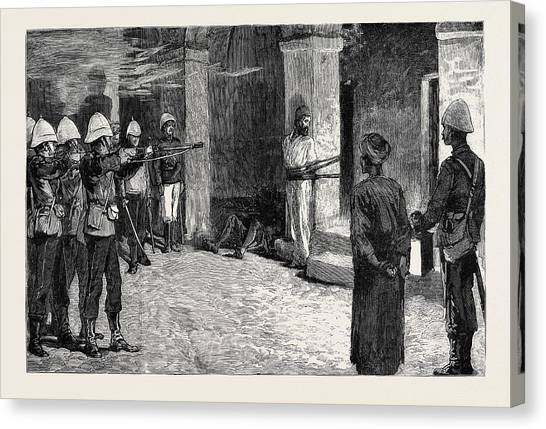 Impartial Canvas Print - The War In Egypt The Naval Occupation Of Alexandria by Egyptian School