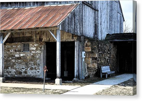 The Water Pump Canvas Print