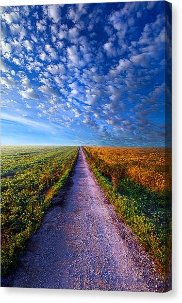 The Way Is Clear Canvas Print