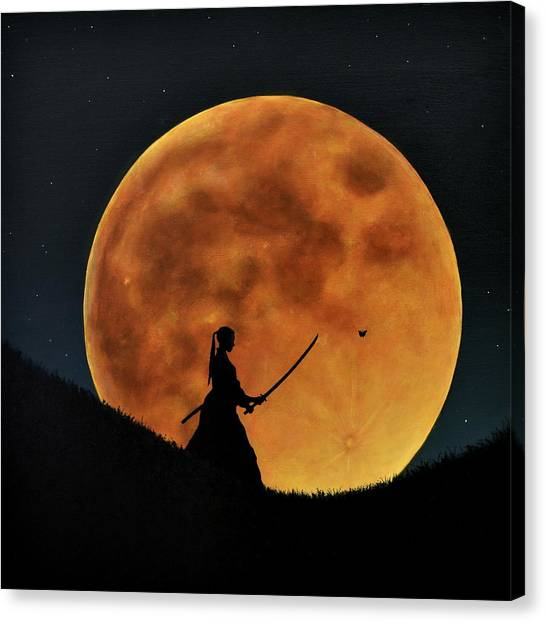 The Way Of The Sword Canvas Print