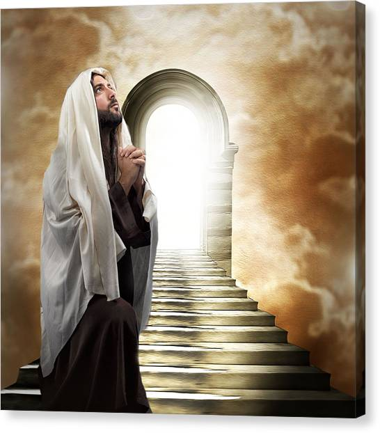 The Way To Heaven Canvas Print