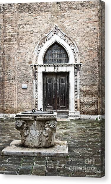 Romanticism Canvas Print - The Well by Delphimages Photo Creations