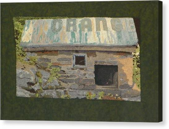 The Well House  Canvas Print
