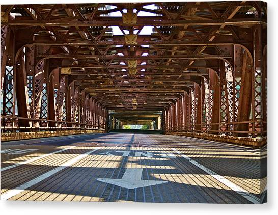The Wells Street Bridge Canvas Print