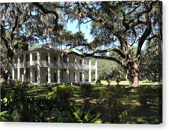 The Wesley House 1 Canvas Print
