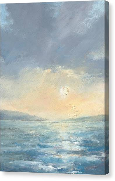 The Western Solent Part Eight Canvas Print by Alan Daysh