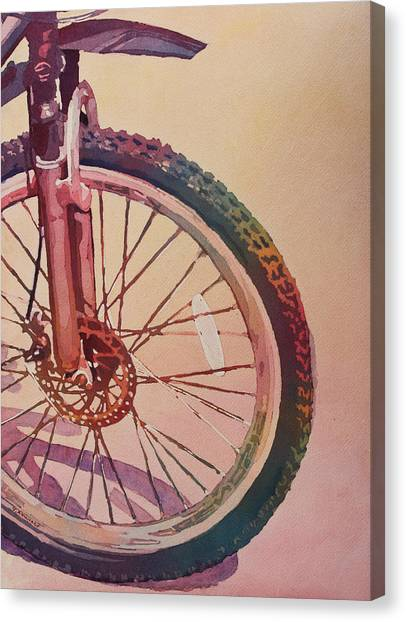 The Wheel In Color Canvas Print