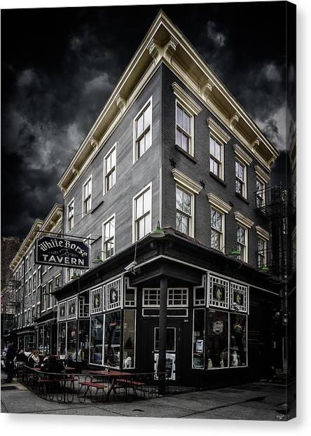 The White Horse Tavern Canvas Print
