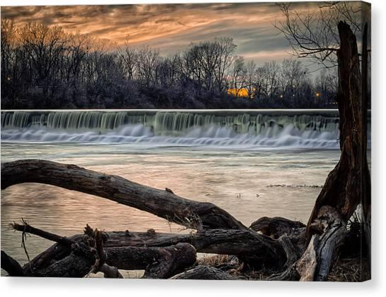 The White River Canvas Print