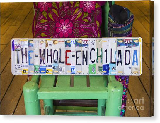 The Whole Enchilada Canvas Print