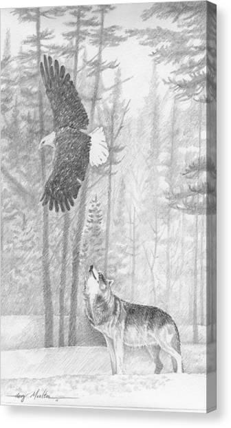 The Wild Canvas Print