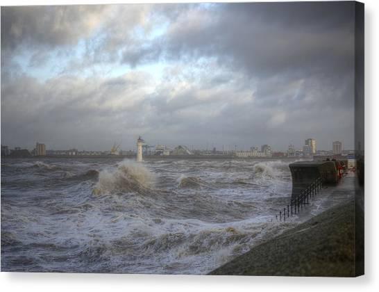 The Wild Mersey 2 Canvas Print