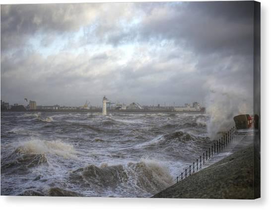The Wild Mersey Canvas Print