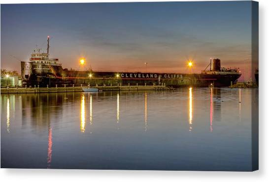 The William G Mather Museum Canvas Print