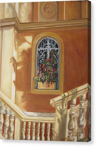The Window Box Canvas Print