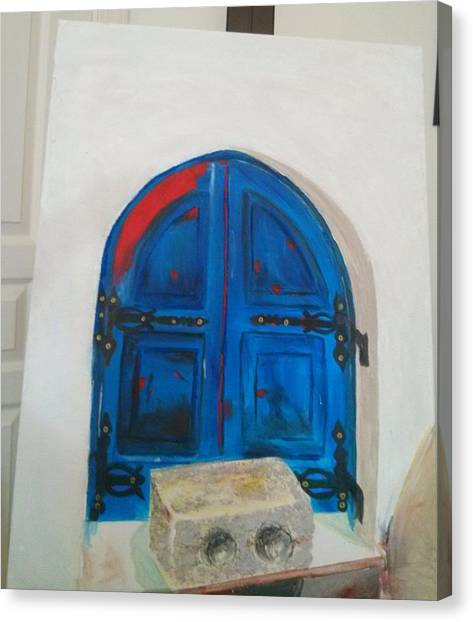 The Window Canvas Print by Sulzhan Bali