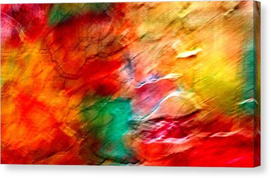 The Winds Of Color Canvas Print