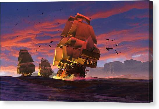 The Winds Of Triton Canvas Print