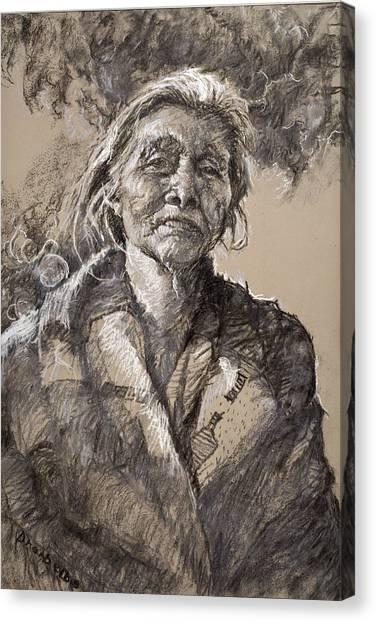 The Wisdom Of Age Canvas Print
