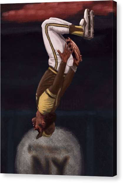 San Diego Padres Canvas Print - The Wizard by Jeremy Nash