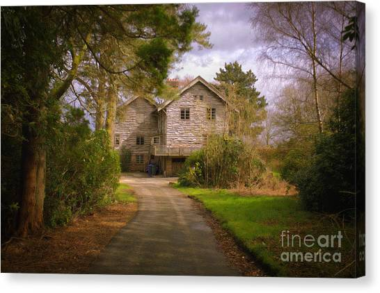 The Wooden House Canvas Print