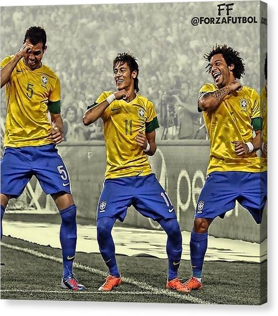 Fifa Canvas Print - The World Cup Is Just 17 Days Away by Rick Junor