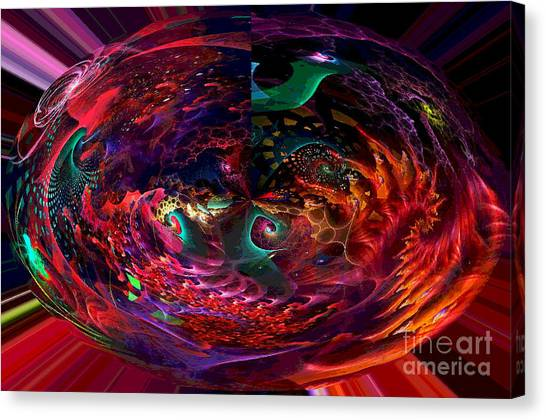 Colorful Orb Canvas Print
