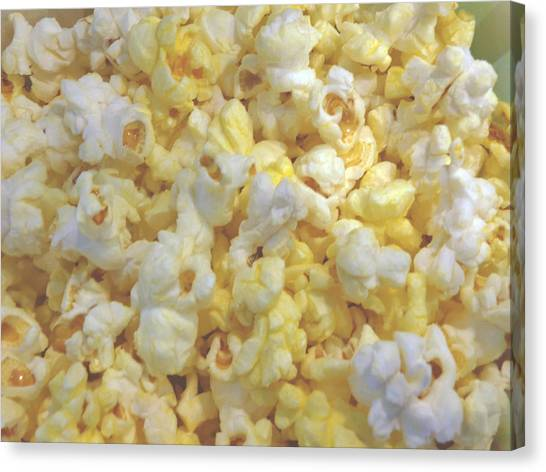 Canvas Print - The World Of Popcorn by Hiroko Sakai