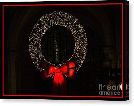 The Wreath Canvas Print